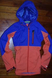 NEW Women's Burton Coral & Purple Fitted Snowboard Jacket (X-Small) Waterproof