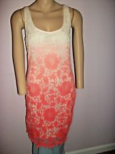 BUFFALO DAVID BRITTON UNIQUE HAND DYED VINTAGE LOOK-FADING TO PINK-SIZE M/M-NWT