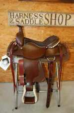 "16"" G.W. CRATE DRAFT ROPING RANCH SADDLE MADE IN ALABAMA FREE SHIP ROPER TRAIL"