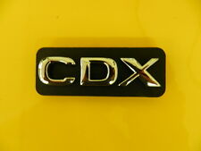 Schritzug Emblem GDX chrom/schwarz Omega B  ORIGINAL OPEL 5177027