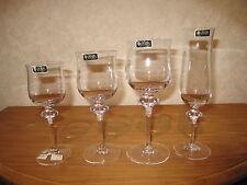 CRISTAL DE SEVRES *NEW* LORRAINE Set 4 Verres Glasses