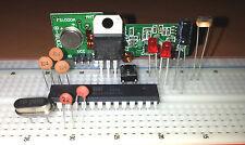 Kit Arduino Atmega328p-pu + Ricevitore e Trasmettitore Wireless 433mhz
