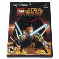 LEGO Star Wars: The Video Game (Sony PlayStation 2, 2005) Complete w/Manual CIB