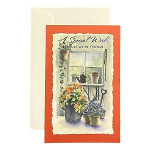 Friendship Greeting Card for Loved Ones, Family and Friends - A Special Wish Bec