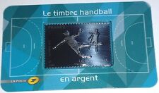 France 2012 Siver/ Argent 999/1000 Handball Stamp New Unopened MNH