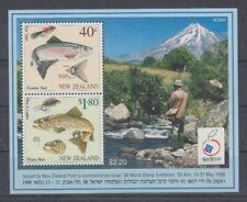 Fish - Marine Life New Zeland Block 76 (MNH)