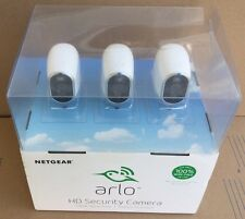NEW Arlo Smart Home Security System with 3 HD Wireless Cameras (Damaged Box)
