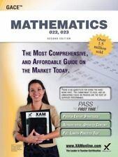 Gace Mathematics 022, 023 Teacher Certification Study Guide Test Prep (Paperback