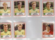 Panini Football 84 - Dennis Van Wyk - Norwich City - No 176