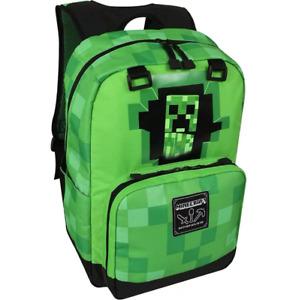 Unisex Minecraft Schultasche Schulrucksack Rucksack Creeper Aufbewahrungstasche