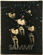 1973 Sammy Davis Jr. Concert Souvenir Program Book