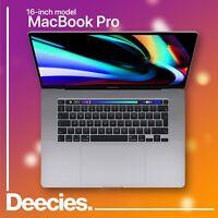 16-inch Apple MacBook Pro Touch Bar 2.4ghz 8-core i9 64gb 8TB SSD AMD 5500M 8GB