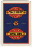 Playing Cards 1 Swap Card - Old Vintage Wills GOLD FLAKE Honey Dew Cigarettes 1