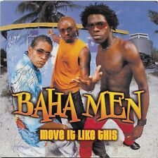 Move It Like This by Baha Men CD Mar 2002 S-Curve USA Autographed!
