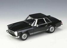 Welly 1:24 1963 Mercedes Benz 230sl Black Diecast Model Car New in Box