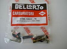 KIT STARTER A LEVA DELLORTO CARBURATORI PHBG - PHBD , COD. 53012-78