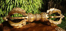 Gigantic Large Brass Vajra/Dorje from Nepal 7.7lbs, 15in