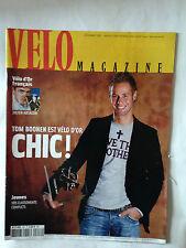 VELO MAGAZINE N°426 DEC. 2005 TOM BOONEN VELO D'OR
