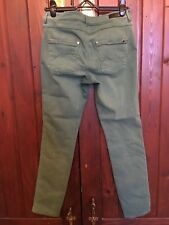JAG GREEN JEANS MID RISE SKINNY ANKLE GRAZER SIZE 10