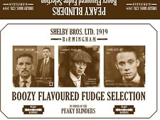 Peaky Blinders - Tommy Shelby Boozey Fudge Gift Set. Six FREE Peaky Beer Mats.