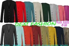 Unbranded Women's Acrylic Long Sleeve V Neck Jumpers & Cardigans