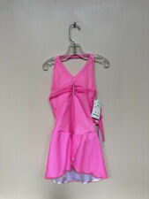 "New ""Pretty in Pink"" skating dress size Child Medium"