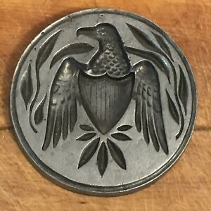 """VINTAGE SEXTON Metalworks EAGLE MOLD WALL DECOR MADE IN USA 6"""""""