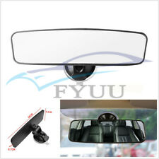 ABS Varnish Wide Flat Autos Interior Rear View Mirror Anti-Glare Suction Clip On