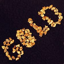 Ten (10) Real Gold Nuggets Flakes from Alaska - coins, gold bar