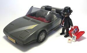 Vintage Playmobil 3162 GANGSTER convertible GETAWAY CAR- Police, bank robber