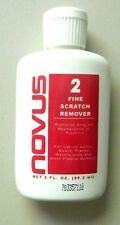 PLASTIC FINE SCRATCH REMOVER POLISH NOVUS HOBBY CAR MODEL ACCESSORY