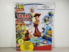 Hallmark Disney/Pixar Toy Story Party Punch Out Table Decorations, NEW Sealed