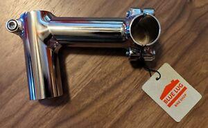 Nitto/Fairweather (Blue Lug) Fillet-brazed Ext. Sleeve Threadless Stem (10cm)