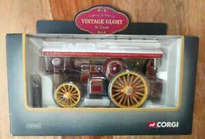 "Corgi 80105 Fowler B6 Showmans Locomotive & ""SUPREME"" Badge S.J. Wharton NEW"