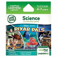 LeapFrog Pixar Pals Learning Game works LeapPad Tablets Leapster GS and Explorer