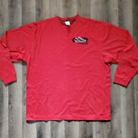 Nike Air Set it Off Revolution Premier Air Force One Long Sleeve Shirt Red XXL