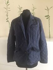 Joules Size 14 Navy Quilted Jacket