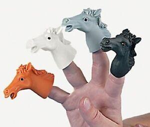 12 Horse Finger Puppets