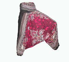 Indian Harem Cotton Pant Yoga Pants Thai Boho Hippie Baggy Casual Trouser