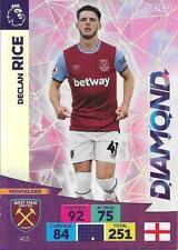 DECLAN RICE WEST HAM UNITED PANINI PREMIER LEAGUE 2020/21 DIAMOND CARD