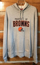 New w/tag CLEVELAND BROWNS Reebok Gridiron Classic hoodie - Lg