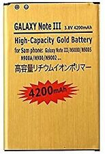 Battery for Samsung Galaxy Note 3 N9000 LTE N9005 Gold Replacement
