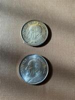 1958-1963 Pope John XXIII Medals 2 Different