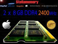 iMac Retina 5K 2017 16GB Memory 2 x 8GB DDR4 2400MHz Ram 2400 PC4-2400 pc4-19200