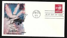 "#C79  13c Winged Envelope - Curtiss JNH-4 ""Jenny"" Cachet - Fleetwood  FDC"