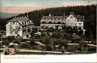 ~1900 ZELLERFELD Clausthal Harz Litho-AK Johanneser Kurhaus alte Ansichtskarte