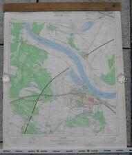 Elbe Vockerode topographische Karte DDR MdI Ministerium des Innern Bezirk Halle