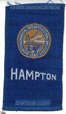 1910s S25 tobacco / cigarette / college silk Hampton Institute