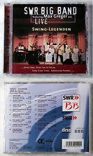 SWR BIG BAND FEAT. MAX GREGER SEN. - Swing Legenden Live .. CD TOP