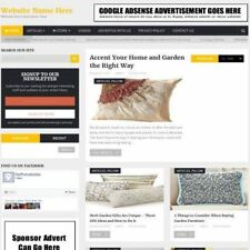 Established GARDEN FURNITURE STORE Online Business Website For Sale, Free Domain